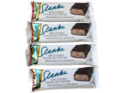 Choklad-Toffee Måltidsbit 4 st