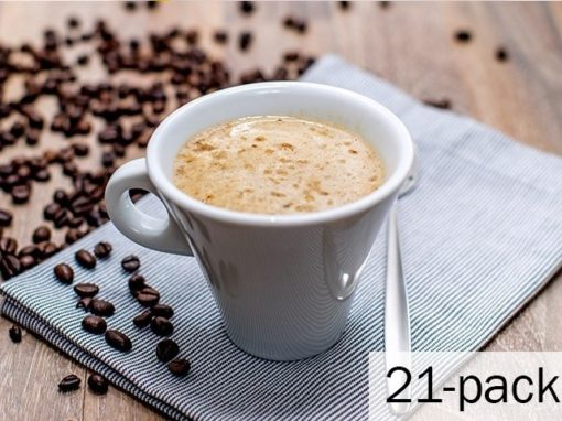 Cappuccino 1 ask med 21 påsar