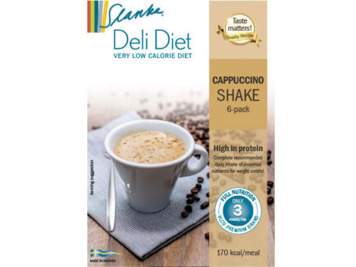 Cappuccino shake 6-pack
