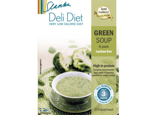 Green soup Laktosfri 6-pack