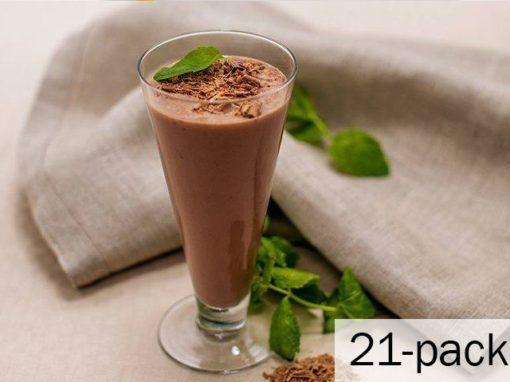 Mintchoklad 1 ask med 21 påsar